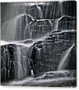 Water Over Wahconah Falls  Canvas Print