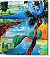 Water Planet Canvas Print