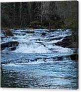 Water Rapids Canvas Print