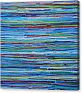 Water Shimmer Resin Canvas Print