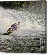 Water Skiing 14 Canvas Print