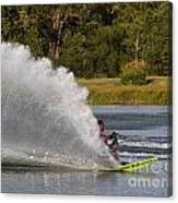 Water Skiing 6 Canvas Print