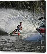 Water Skiing 8 Canvas Print