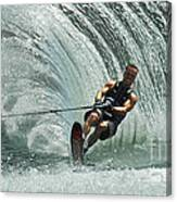 Water Skiing Magic Of Water 10 Canvas Print
