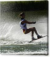 Water Skiing Magic Of Water 16 Canvas Print