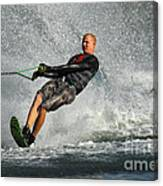 Water Skiing Magic Of Water 20 Canvas Print