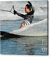 Water Skiing Magic Of Water 22 Canvas Print