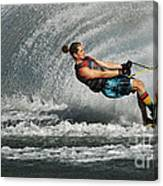 Water Skiing Magic Of Water 23 Canvas Print