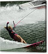 Water Skiing Magic Of Water 28 Canvas Print