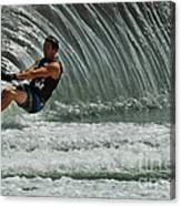 Water Skiing Magic Of Water 3 Canvas Print