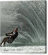 Water Skiing Magic Of Water 31 Canvas Print