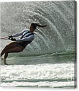 Water Skiing Magic Of Water 32 Canvas Print