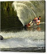 Water Skiing Magic Of Water 33 Canvas Print