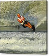 Water Skiing Magic Of Water 4 Canvas Print