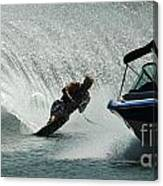 Water Skiing Magic Of Water 6 Canvas Print