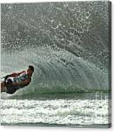 Water Skiing Magic Of Water 7 Canvas Print