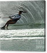 Water Skiing Magic Of Water 9 Canvas Print