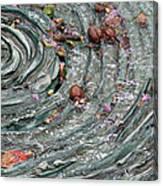 Water Spiral  Canvas Print