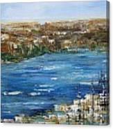 Water Way Canvas Print