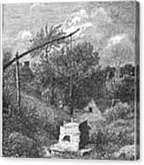 Water Well, C1880 Canvas Print