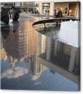 Lincoln Center Reflections Canvas Print