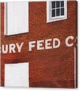Waterbury Feed Canvas Print