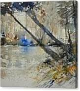 Watercolor 119080 Canvas Print