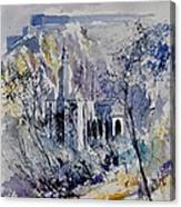 Watercolor Dinant 110172 Canvas Print