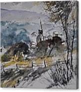Watercolor Lesterny Canvas Print