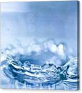 Waterdrop3 Canvas Print