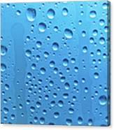 Waterdrops Canvas Print