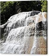 Waterfall At Treman State Park Ny Canvas Print