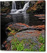 Waterfall Childs State Park Canvas Print