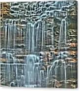Waterfall Highights Canvas Print