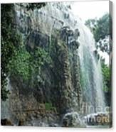 Waterfall In Nice Canvas Print