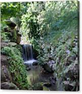 Waterfall In Prospect Park Canvas Print