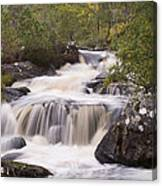 Waterfall In The Highlands Canvas Print