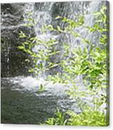 Waterfall In Vermont Canvas Print