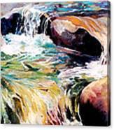 Waterfall Maui Canvas Print