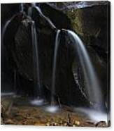 Waterfall On Emory Gap Branch Canvas Print