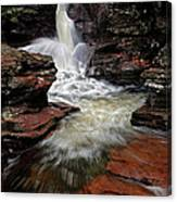 Waterfall Ricketts Glen Canvas Print