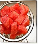 Watermelon Parfait 2 Canvas Print