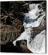 Waters Flow Glen Alpine Falls Canvas Print