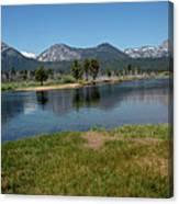 Waters Lead To Lake Tahoe Canvas Print