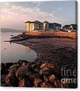 Waterside At Exmouth Canvas Print
