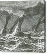 Waterspouts Canvas Print