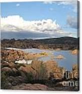 Watson Lake 2 Canvas Print