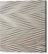 Waves And Stripes Background Canvas Print