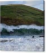 Waves In Beenbane Canvas Print