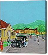 Wayne Hills 1948 Canvas Print